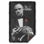 Godfather Poster Throw Blanket