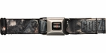 Godzilla 2014 Movie Smoke Seatbelt Mesh Belt