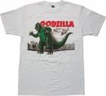Godzilla Air Strike T Shirt Sheer