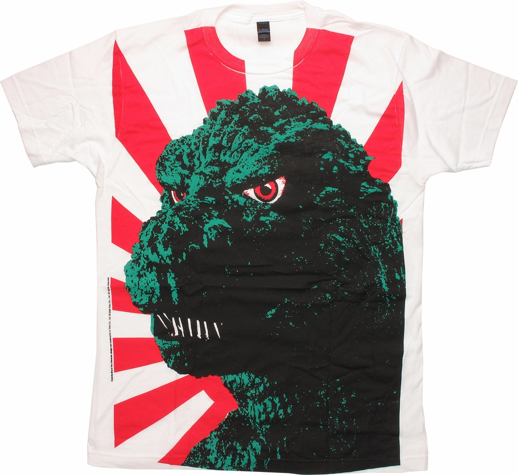 Godzilla Face T-Shirt Sheer