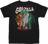 Godzilla Tower Grab T-Shirt