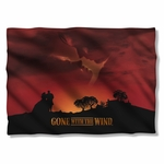 Gone with the Wind Sunset Pillow Case