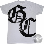Good Charlotte Monogram T-Shirt Sheer
