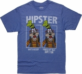 Goofy Hipster T Shirt Sheer