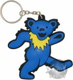 Grateful Dead Bear Flexible Keychain