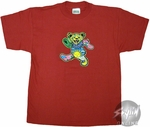 Grateful Dead Bear Red Youth T-Shirt
