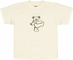 Grateful Dead Bear White Youth T-Shirt