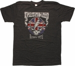 Grateful Dead Europe 1972 T-Shirt Sheer