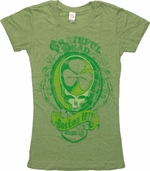 Grateful Dead Shamrock Music Baby Tee