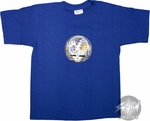 Grateful Dead Shiny Skull Royal Youth T-Shirt