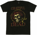 Grateful Dead Skull T-Shirt Sheer