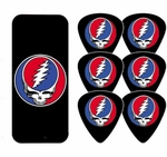 Grateful Dead Steal Your Face Guitar Pick Set