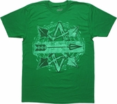 Green Arrow Crossed Arrows T-Shirt