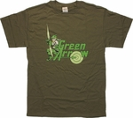 Green Arrow Target T-Shirt