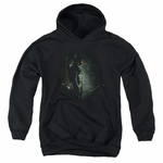 Green Arrow TV in the Shadows Youth Hoodie