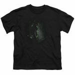 Green Arrow TV in the Shadows Youth T Shirt