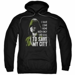 Green Arrow TV Save My City Pullover Hoodie