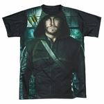 Green Arrow TV Two Sides BB Sublimated T Shirt