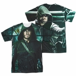 Green Arrow TV Two Sides FB Sublimated T Shirt
