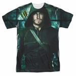 Green Arrow TV Two Sides Sublimated T Shirt