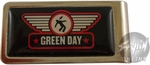 Green Day Logo Money Clip
