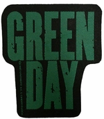 Green Day Name Patch