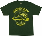Green Day Shoes T Shirt