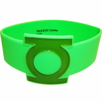 Green Lantern Big Logo Rubber Wristband