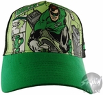Green Lantern Comic Hat