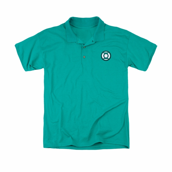 Green Lantern Embroidered Logo Polo Shirt