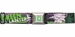 Green Lantern Emerald Gladiator Seatbelt Belt