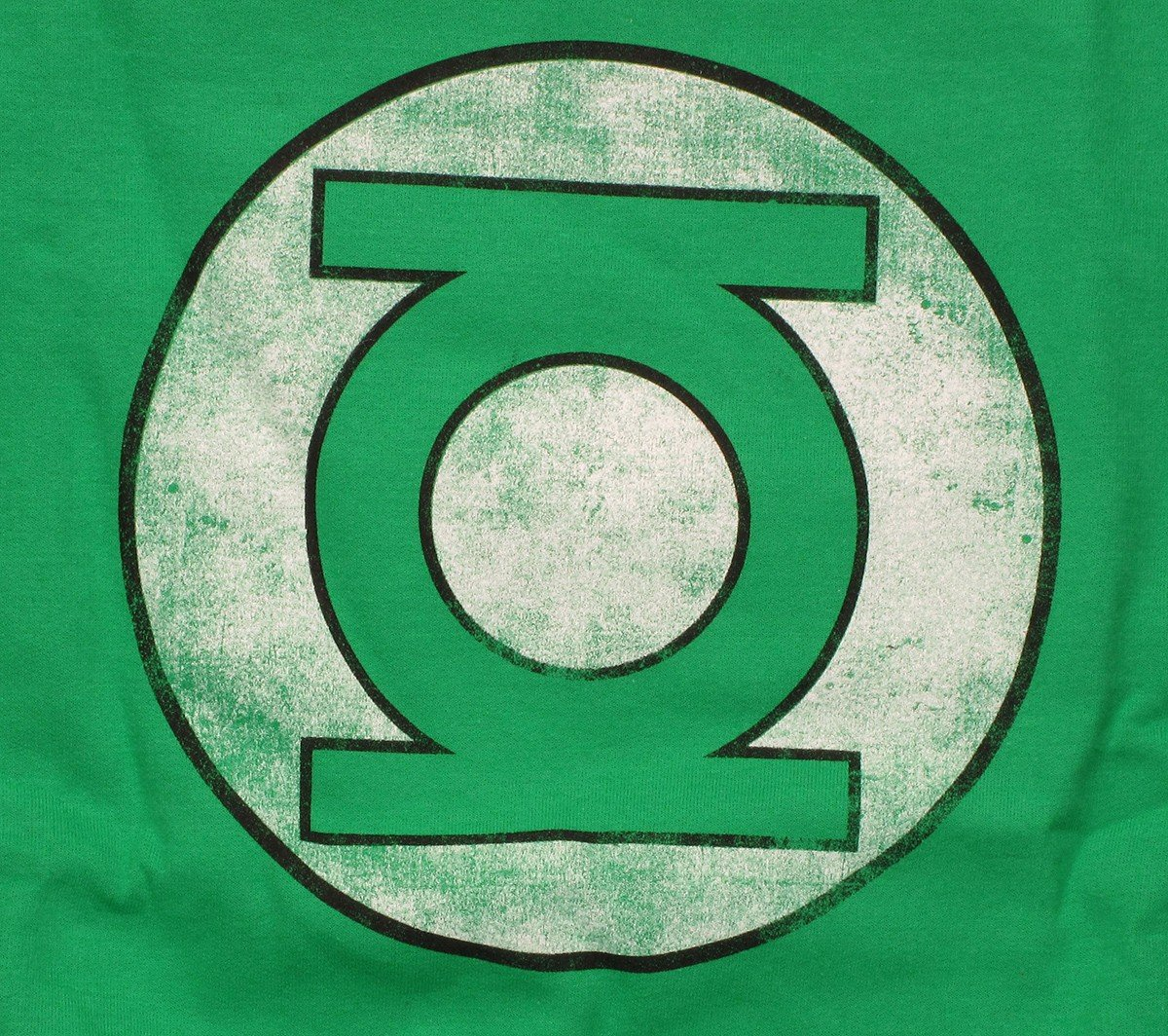 Free Comic Book Day Logo: Green Lantern Faded Logo Sweatshirt