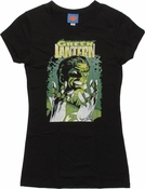 Green Lantern Ring Collection Cover Baby Tee