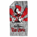 Grim Adventures of Billy & Mandy Time's Up Towel
