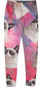 Grumpy Cat Space Leggings