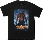 Guardians of the Galaxy Drax Poster T Shirt