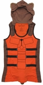 Guardians of the Galaxy Rocket Hooded Juniors Tank