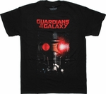 Guardians of the Galaxy Star Lord Helmet T Shirt