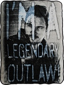 Guardians of the Galaxy Star Lord Outlaw Blanket