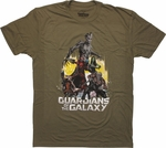 Guardians of the Galaxy Team Ready T Shirt Sheer