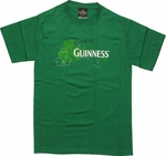 Guinness Clovers Name T-Shirt