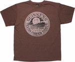 Guinness Moonshine Brand T Shirt Sheer