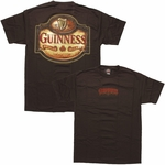 Guinness Wooden Sign T-Shirt