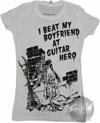 Guitar Hero Beat Boyfriend Baby Tee
