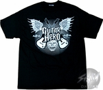 Guitar Hero Face Wings T-Shirt