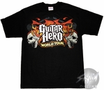Guitar Hero World Tour  Skulls Logo T-Shirt