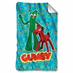 Gumby Best Friends Fleece Blanket