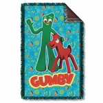 Gumby Best Friends Throw Blanket