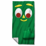 Gumby Big Face Towel