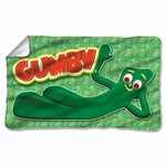 Gumby Chilling Fleece Blanket